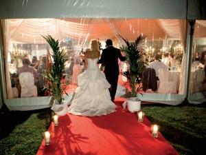 Allestimento per matrimonio a Bellinzona