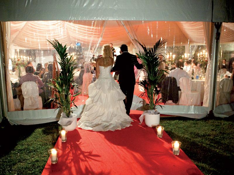 Allestimento Matrimonio Azzurro : Allestimenti per matrimoni ed eventi noleggio service