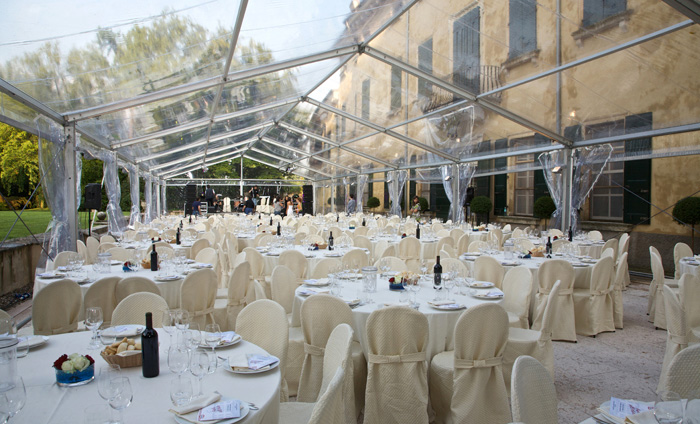 Estremamente Allestimenti per matrimoni ed eventi - Noleggio Service OF59