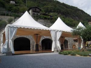 Noleggio gazebo per matrimoni feste fiere e manifestazioni for Noleggio tendoni per feste udine