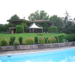 Gazebo mt 6x6 noleggiato per festa privata in villa