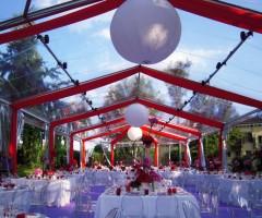 Allestimento per festa di fidanzamento - Parco Sigurtà
