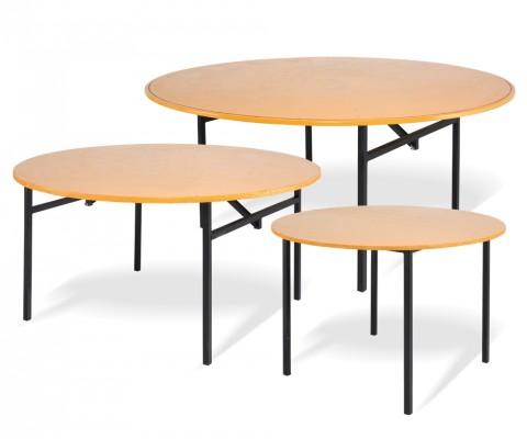 Tavolo con ripiano in legno