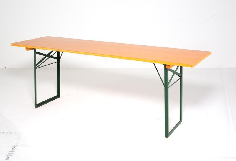 Strutture per eventi e attrezzature usate in vendita for Tavoli in legno con gambe in ferro
